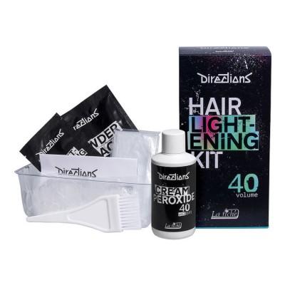 Осветлитель для волос - Hair Lightening Kit 40 Volume - Directions